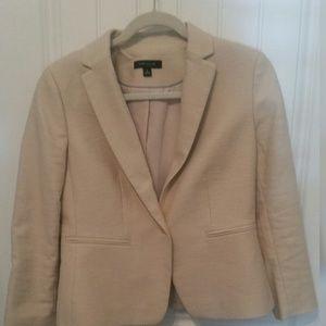 ANN TAYLOR Beige Jacket - Size 6